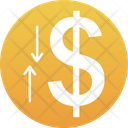 Dollar Value Currency Value Economy Icon