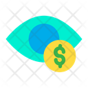 Dollar Eye Eye Dollar Icon