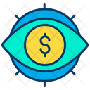 Dollar View Dollar Eye Dollar Icon