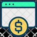 Dollar Website Dollar Website Icon