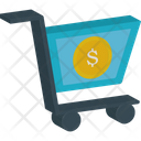 Landmark Dollar Sign Icon