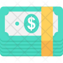 Dollars Bills Banknotes Icon