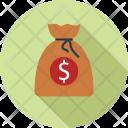 Dollars Bag Money Icon