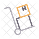 Dolly Box Delivery Icon