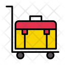 Dolly Briefcase Luggage Icon