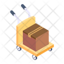 Parcel Trolley Dolly Pallet Icon
