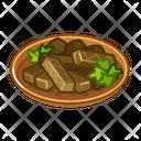 Dolma Food Eat Icon