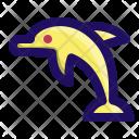 Dolphin Animal Sea Icon