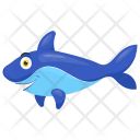 Dolphin Mammal Friendly Icon