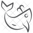 Dolphin Fish Specie Icon