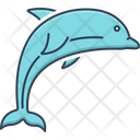 Dolphin Bio Sonar Bottle Nose Icon