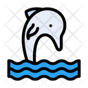 Dolphin Whale Fish Icon