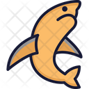 Dolphin Mammal Animal Icon