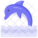 Aquatic Mammal Dolphin Orcas Icon