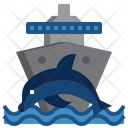 Dolphin Wild Life Animal Kingdom Icon