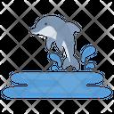 Dolphin Sea Fish Icon