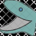 Dolphin Face Icon