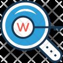 Domain Www Keyword Icon