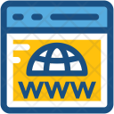 Www Domain Globe Icon