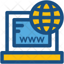 Www Domain Internet Icon
