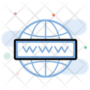Domain Network Domain Www Icon
