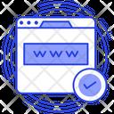 Domain Www World Wide Web Icon