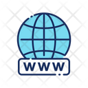 Domain Www World Wide Web Icon