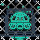 Domain Search Web Icon