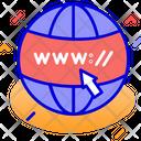 Domain Internet Web Address Icon