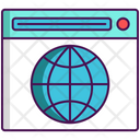 Domain Internet Web Icon