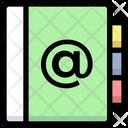 Domain Address At Icon