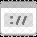 Slash Domain Window Icon
