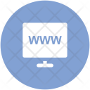 Domain Url Web Icon