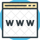 Domain Url Worldwide Icon
