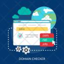 Domain Checker Creative Icon