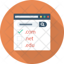 Domain Domainextension Domaintypes Icon