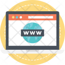 Www Domain Url Icon