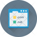 Domain Com Net Icon