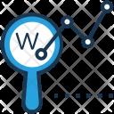 Domain Graph Find Icon