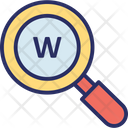 Domain Extension Find Domain Search Domain Magnifier Glass Icon