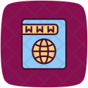 Domain Ip Lookup Icon