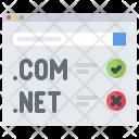 Domain registration Icon