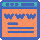 Domain Registration Domain World Wide Web Icon