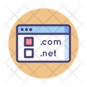 Domain Registration Domain Internet Icon