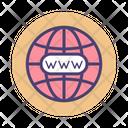 Domain Registration Www Web Icon
