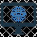 Domain Registration Domain Registration Icon