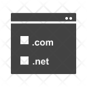 Domain Registration Website Icon