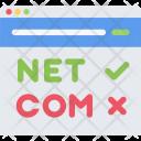 Domain Registration Analysis Icon