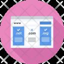 Domain Registration Seo Icon