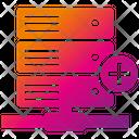 Domain Service Hosting Server Icon